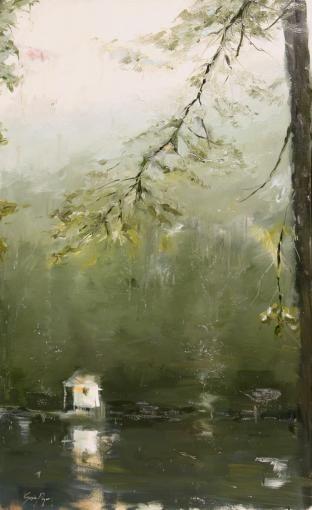 Susie Pryor's beautiful new paintings.
