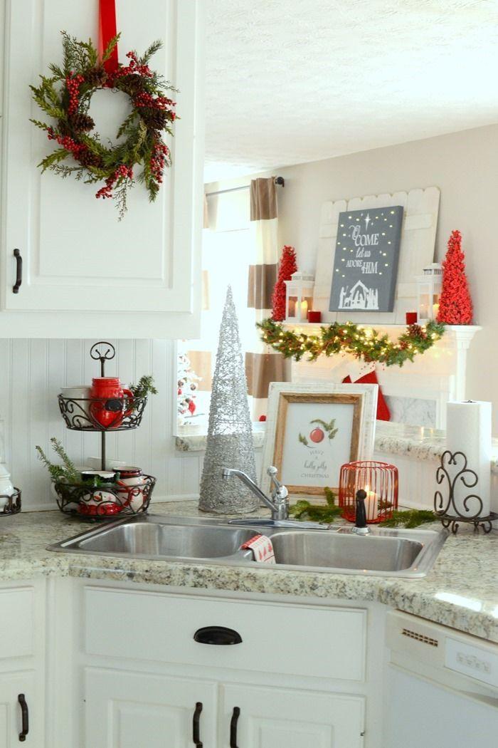 25+ unique Christmas kitchen ideas on Pinterest Kitchen xmas - christmas kitchen decor