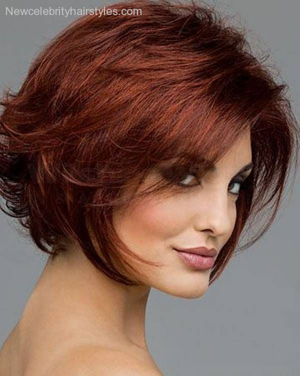 Short hairstyles for fat faced women 2015-2016 - New Celebrity Hairstyles