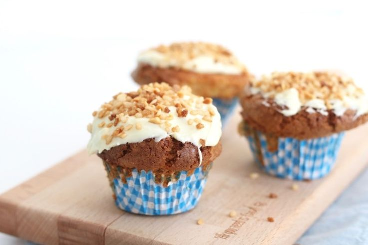 Witte chocolade muffins met nougatine – SINNER SUNDAY