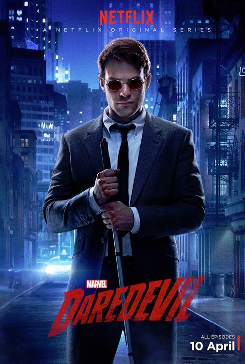 Daredevil-One of the best Marvel shows made (Sorry Agents of Shield). Great acting, writing, directing, and stunt-work! The season finale was totally fulfilling! Charlie is Daredevil!