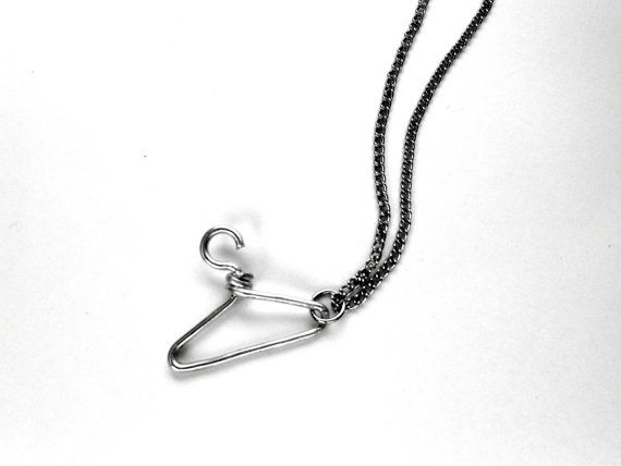 So buying this.   ProChoice Abortion Hanger Necklace. 30% of profits go to support Planned Parenthood.