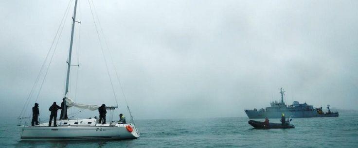 Du 6 au 9 mars 2017 s'est déroulé l'édition 17.1 de Morskoul au large des côtes bretonnes. A peine la tempête « Zeus » terminée, la frégate anti-sous-marine Primauguet, les chasseurs de mines L'Aigle, Croix du sud, Eridan, Pégase et Styx et les bâtiments remorqueurs de sonars (BRS) Altaïr et Aldébaran ont appareillé pour un entraînement opérationnel de groupe.