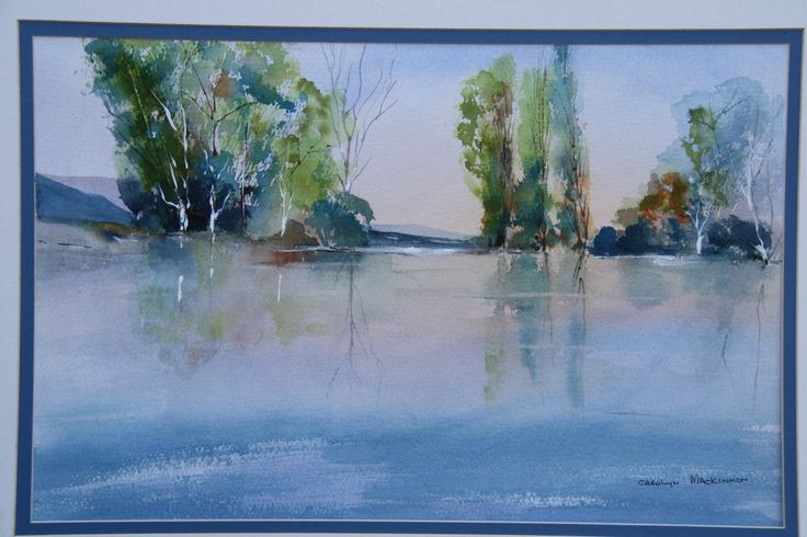 Water colour and ink.  Carolyn Mackinnon