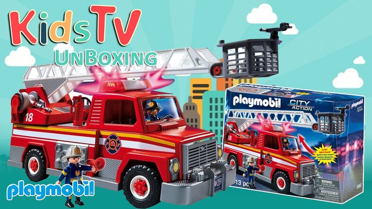 Rush to the Scene of A Blaze and put the Fire Out with the Playmobil Fire Truck The Playmobil 10646 Fire Truck is a fun toy to help your little one play firefighter extinguish fire and help people. Clear the roads and help get your firefighters to the scene by toggling the functioning lights and sirens. The toy set includes one figure fire truck traffic cone fire extinguisher shovels gas tank water hose and other accessories just about everything you need to keep the fire out. The figures…