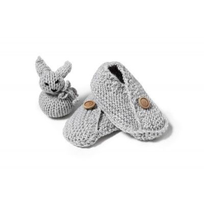 Warm and soft shoes for an infant. Keep the kid's feet warm and comfortable.
