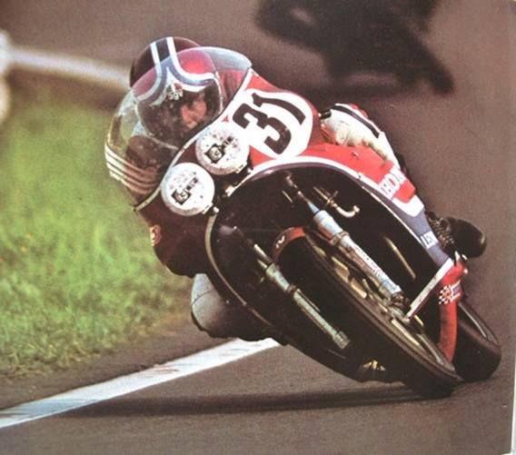 Stavelot Francorchamp sa más de 200 Km-h-Christian Léon-Honda 941-Spa - 24 Horas de Lieja 1976