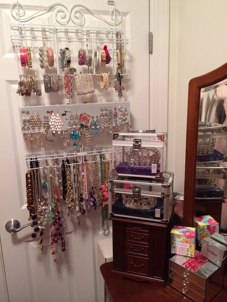 Over The Door Jewelry Organizer Love Some Jewelry