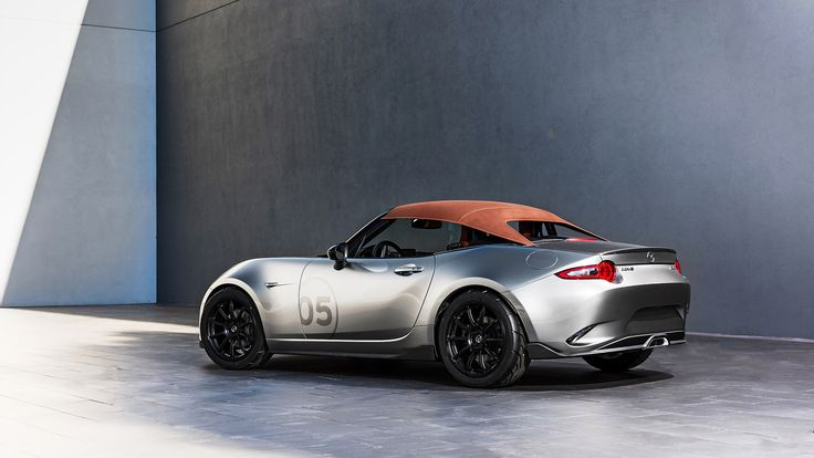 2015 Mazda MX-5 Spyder Concept  http://www.wsupercars.com/mazda-2015-mx-5-spyder-concept.php