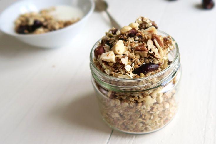 Karamel zeezout granola