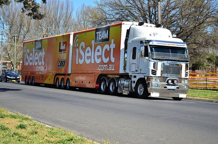 Freightliner, Lucas Dumbrell Racing,V8 Supercars,Australia, pinned by Ton van der Veer