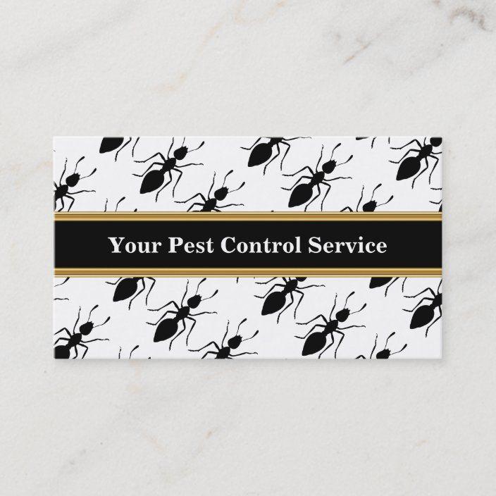 Pest Control Business Cards Zazzle Com Pest Control Flea Prevention Pests