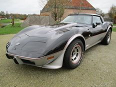 Chevrolet corvette stingray 25th anniversary Limited edition recreation - 1975