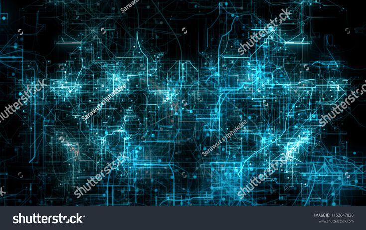 Blue Science Digital Technology Background, Futuristic technological abstract digital background, grids with thin lines and stylish particles, Fly thr…