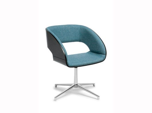 The Charlotte offers simple retro shaping, this stylish visitor chair exudes personality and class.