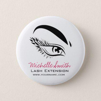 Amazing Eye Sketch Mascara Lash Extension Button by BeautyAndFashion cyo diy customize personalize unique