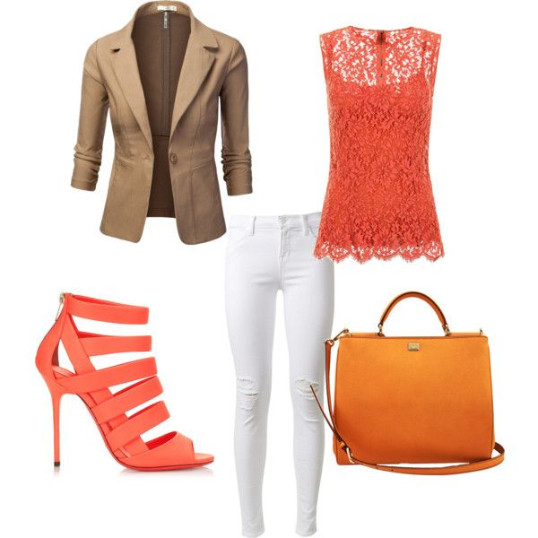 """Terra color outfit"" by kristhina on Polyvore"