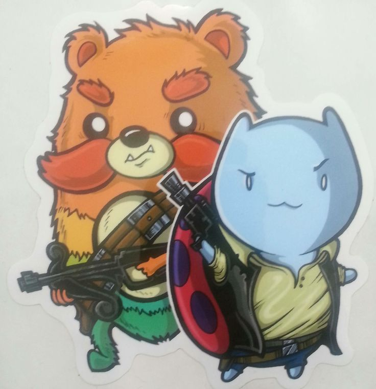 Star Wars Catbug And Impossibear Posted By Reddit User Cheefin