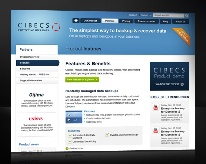 Cibes: Full online solution