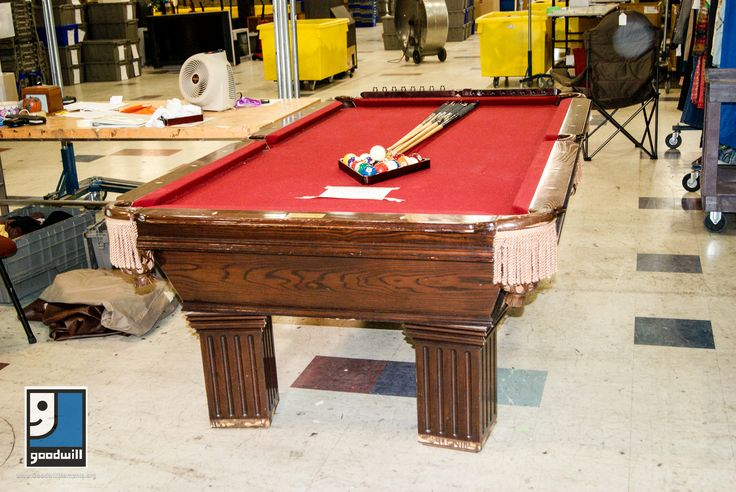 $4000 Connelly pool table found at our Austin Peay Goodwill for $399!