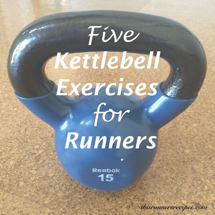 5 Kettlebell Exercises for Runners