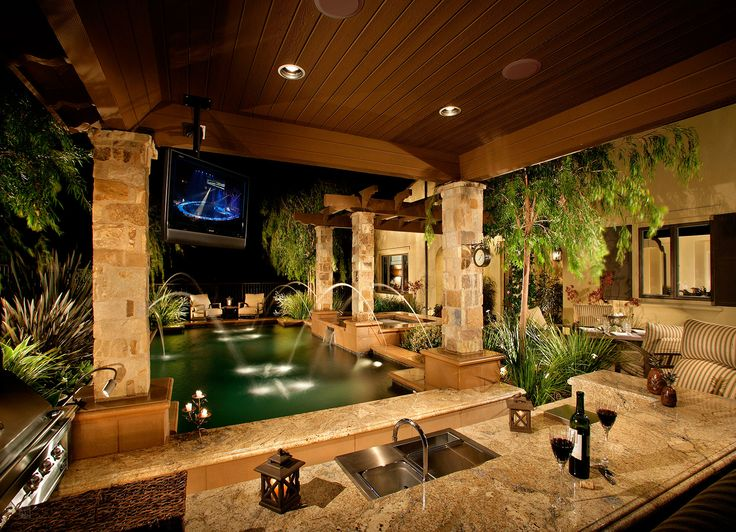 192 best images about pool landscaping on pinterest for Tj garden rooms