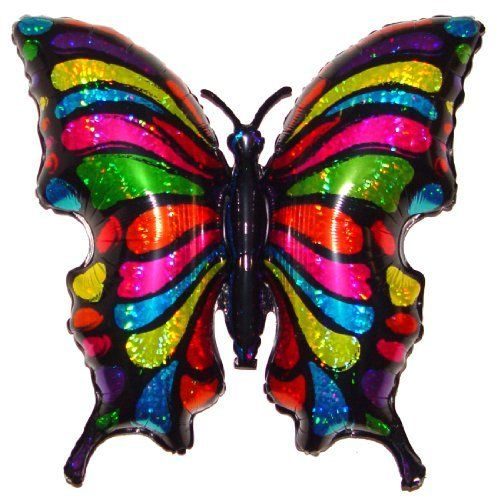 33' POP ART BUTTERFLY BALLOON   Amazing New HOVERING ANTI GRAVITY TOY   Free Floating, Flying Bug Animal Kingdom Birthday Party Favor. #BUTTERFLY #BALLOON #Amazing #HOVERING #ANTI #GRAVITY #Free #Floating, #Flying #Animal #Kingdom #Birthday #Party #Favor