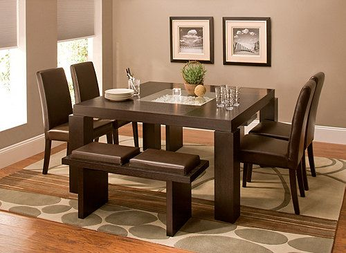 raymour and flanigan dining room sets i love this set raymour flanigan cortland place 7 pc dining set with square pillar legs and 5028