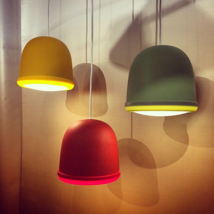 Tutti Frutti pendant lamp by Paolo Dell Elce for Zero Design Italy #euroluce #euroluce2015 #milandesignweek #lighting #lightingdesign #milandesignweek