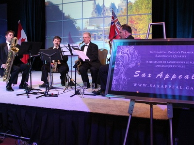 Quartet Offers Sax Appeal to the Kanata Chamber of Commerce!