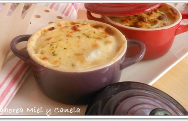 Moussaka en cocotte recetas para mis minis cocottes - Cocinar en cocotte ...