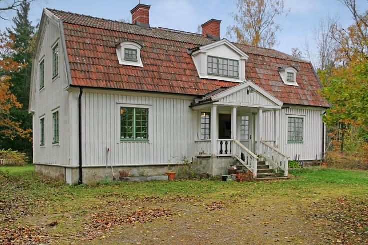Gammal skola inspiration från bygg- fabriken. Påminner detta hus kanske lite om...