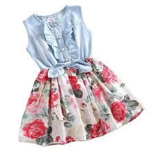 Resultado de imagen para vestido de yin por arriba y tela floreada la falda