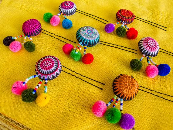 Hmong Hairpin/ Accessories/ Ethnic/ by CHEZMOIMYHOME on Etsy