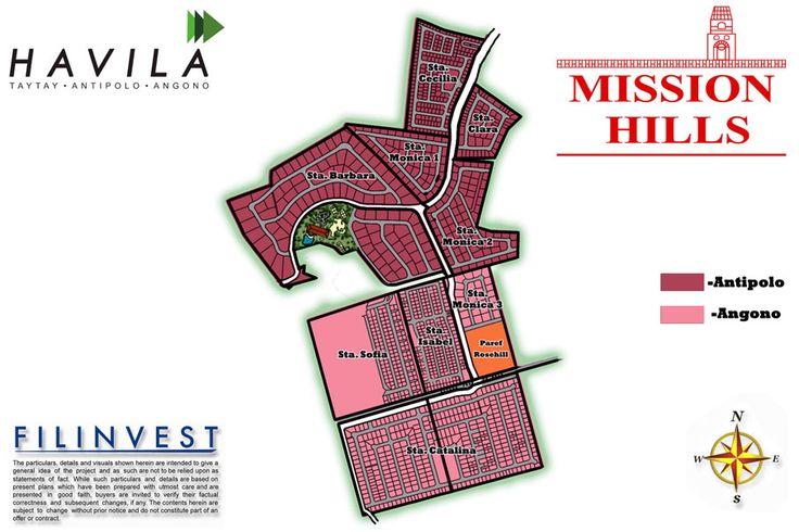 Mission Hills Havila Antipolo City Site Development Plan