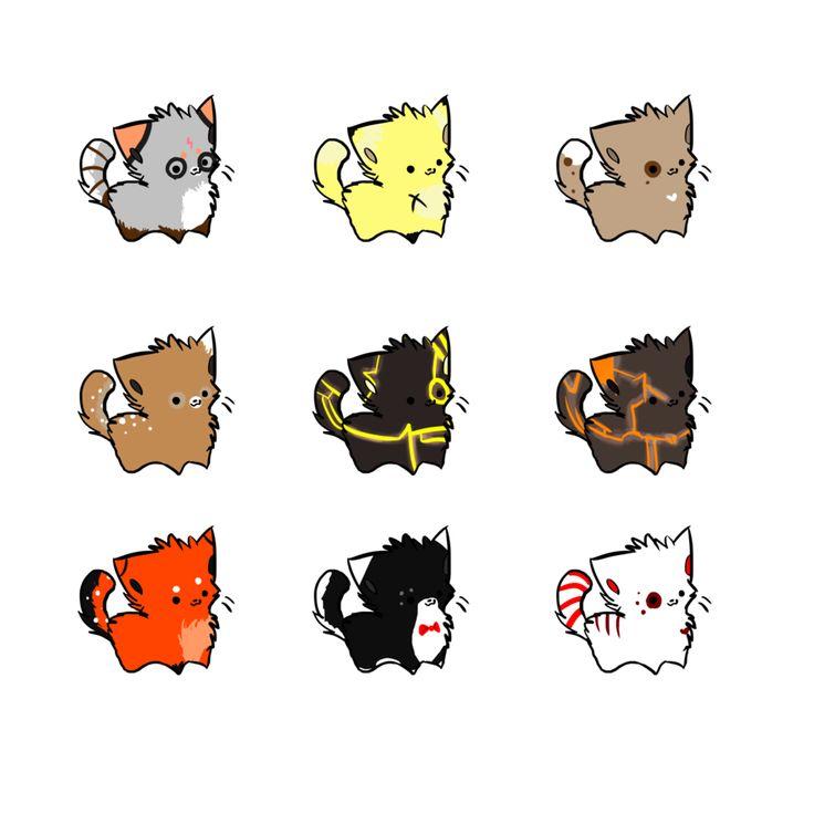 Cute Chibi Cat Best Cat Cute Pictures Meme Cartoon Images