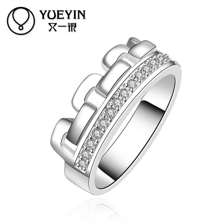 R602 в продаже ювелирных украшений де мульти-марка anillos де-плата серебряные кольца для женщин обручальные кольца роскошные анель женственный