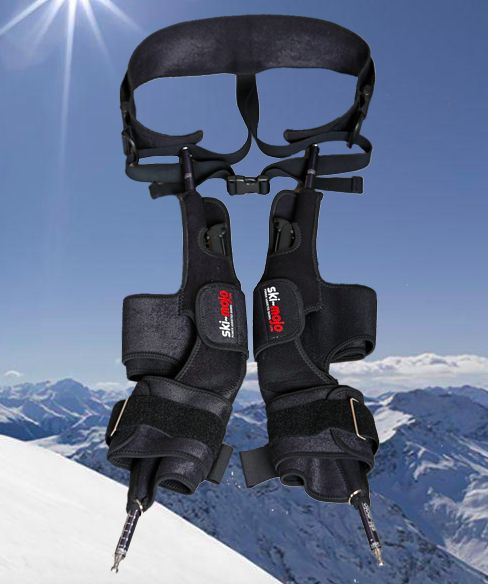 Découvrez le 1er exosquelette pour skieurs