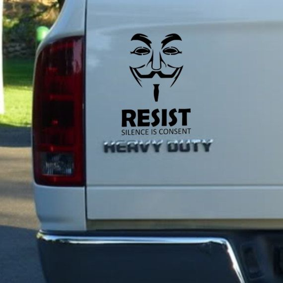 Resist car window decal stickers pick your by drivingwords