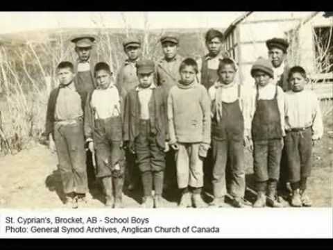 The residential schooling of Canadian Aboriginal Children was filled with: neglect, abuse, racial prejudice, disease and death.
