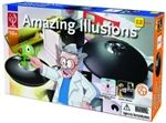Kit includes a magical microscope, kaleidoscope and a pin hole camera that produces true to life floating images try to touch them, it's impossible! It is a great fun for family and to amaze your friends.