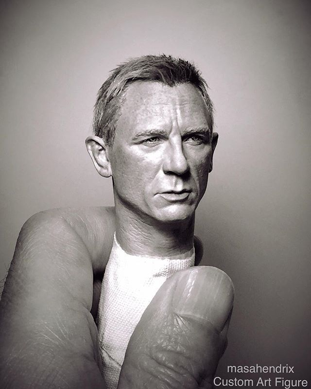 "1/6 scale Custom Art Figure作品集。 . Daniel Craig 007 JAMES BOND ""S P E C T R E ""…"