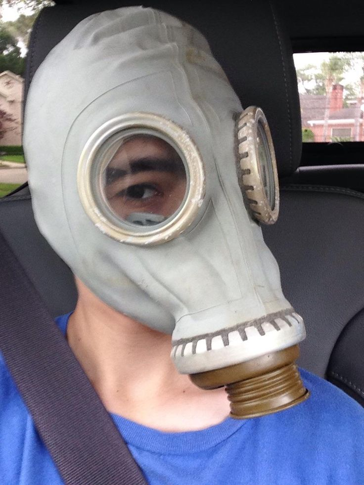 This vintage Russian gas mask I got for 8$