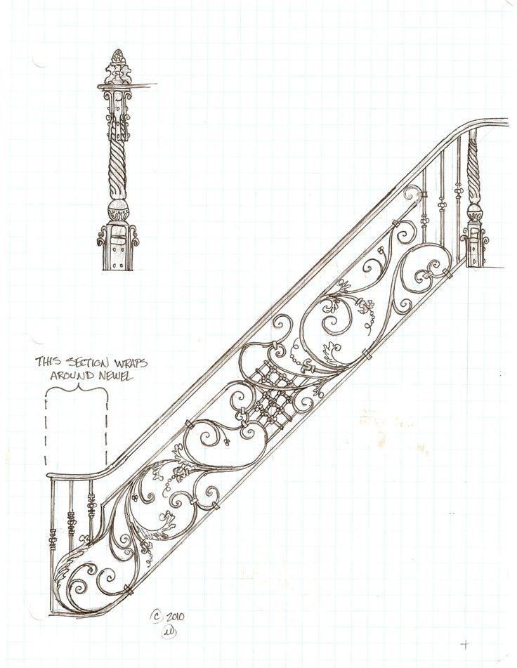 17 best images about drawing stairs and stair railing on