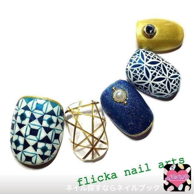 ネイル 画像 flicka nail arts 726958 ソフトジェル ハンド