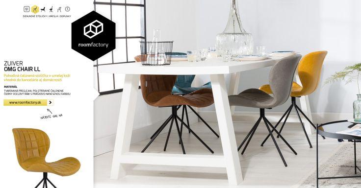 Prinášame vám novinku do našej kolekcie dizajnových stoličiek! Holandský dizajn pod značkou ZUIVER obohacuje svoj úspešný model OMG Chair o prevedenie v umelej koži. Dostupné v piatich úžasných farebných odtieňoch!