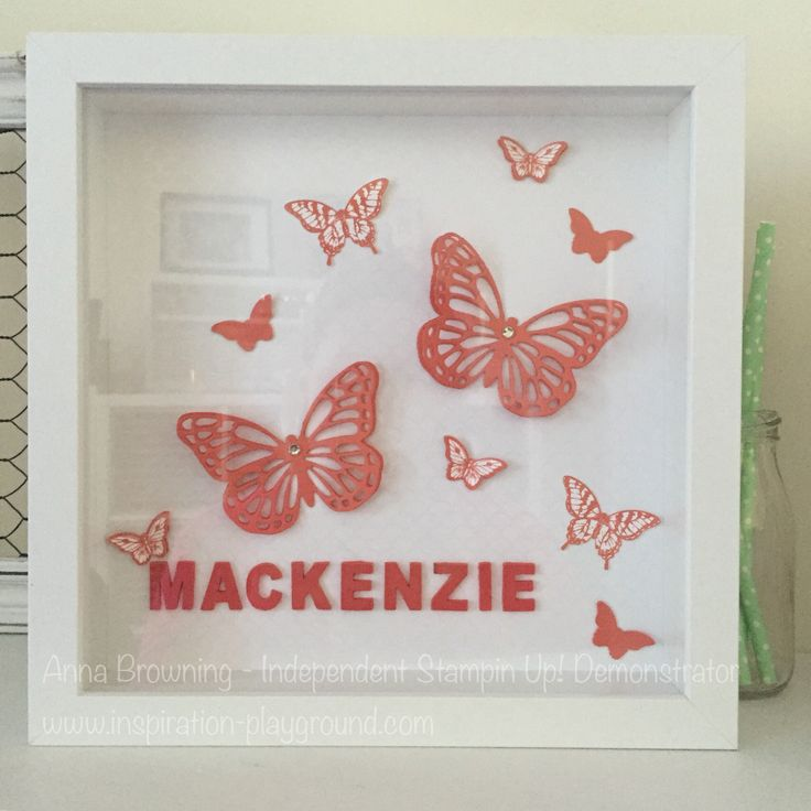 Anna Browning - Australian Independent Stampin Up! demonstrator. Order you our frame at www.inspiration-playground.com