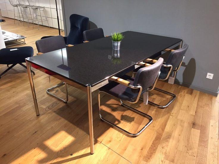 #USM Haller Granit #Tisch Nero Assoluto, 68% Rabatt / Designermöbel  #Woltersdorf