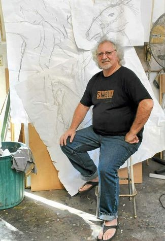 A BUNDABERG artist has slain the competition in the national Swell Sculpture Festival.