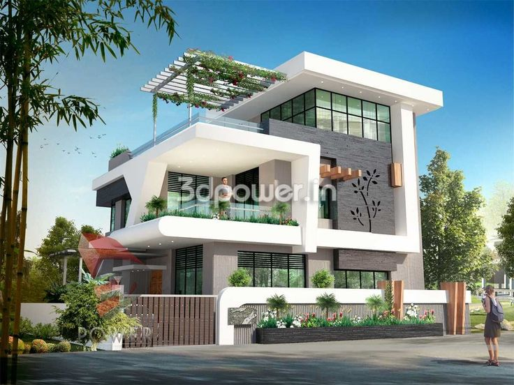 Modern Home Exterior Design Ideas 2017: Architectural Presentation